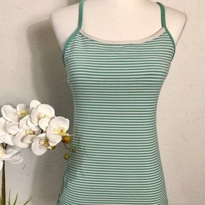 Lululemon Power Y Tank Luon Light Sz 6